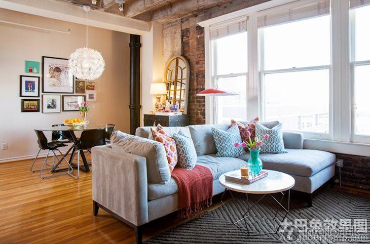 Small Apartment Loft Style Living Room Dining Room Effect Chart Loft Style Living Room Loft Style Living Loft Interior Design