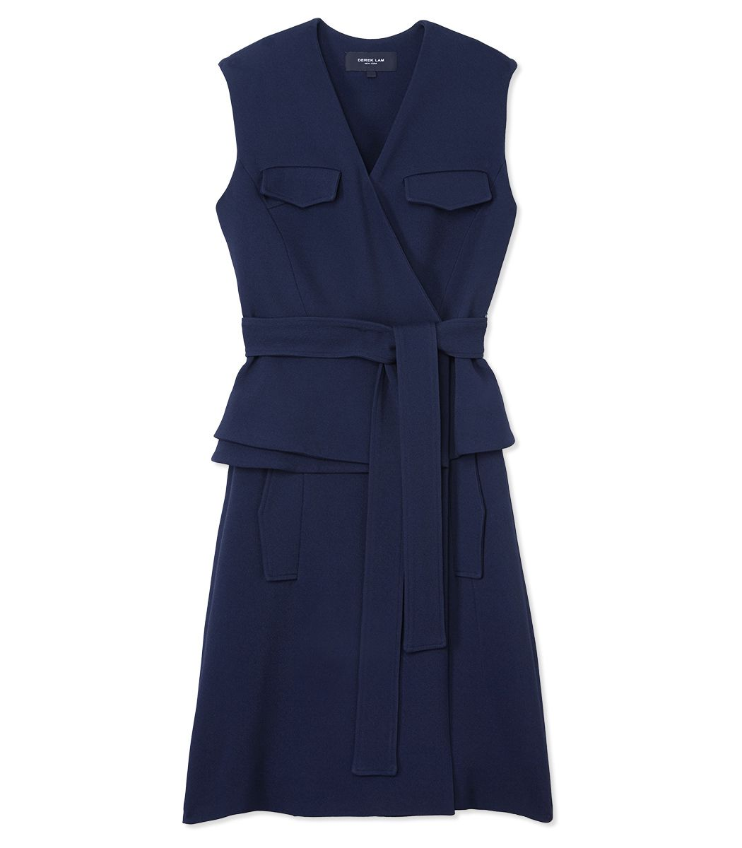 Derek Lam Sleeveless Trench Dress