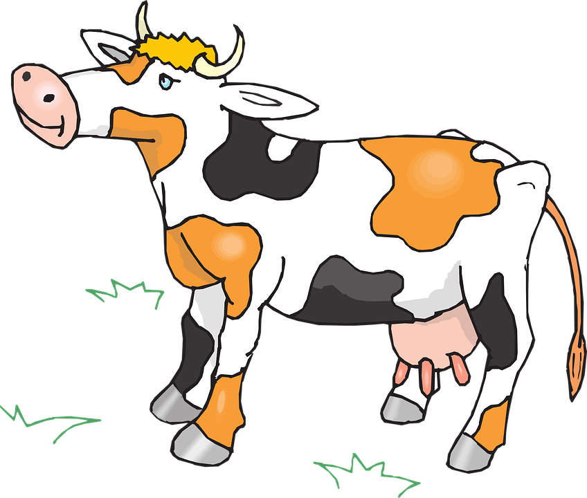 снег корова картинки анимации кастрюлю