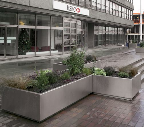 Stainless Steel Planters 种植池 箱 钵 Planters Modern
