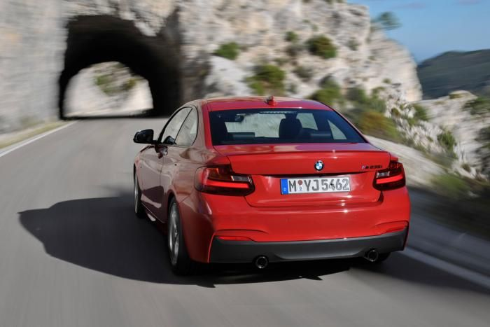 BMW 2 Series official images ... Official images of the upcoming BMW 2 Series have been leaked online, ahead of its debut at the Detroit show in January.