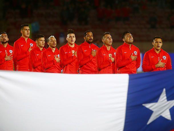 Chile troleó su propio himno nacional antes de enfrentar a Perú - Perú.com