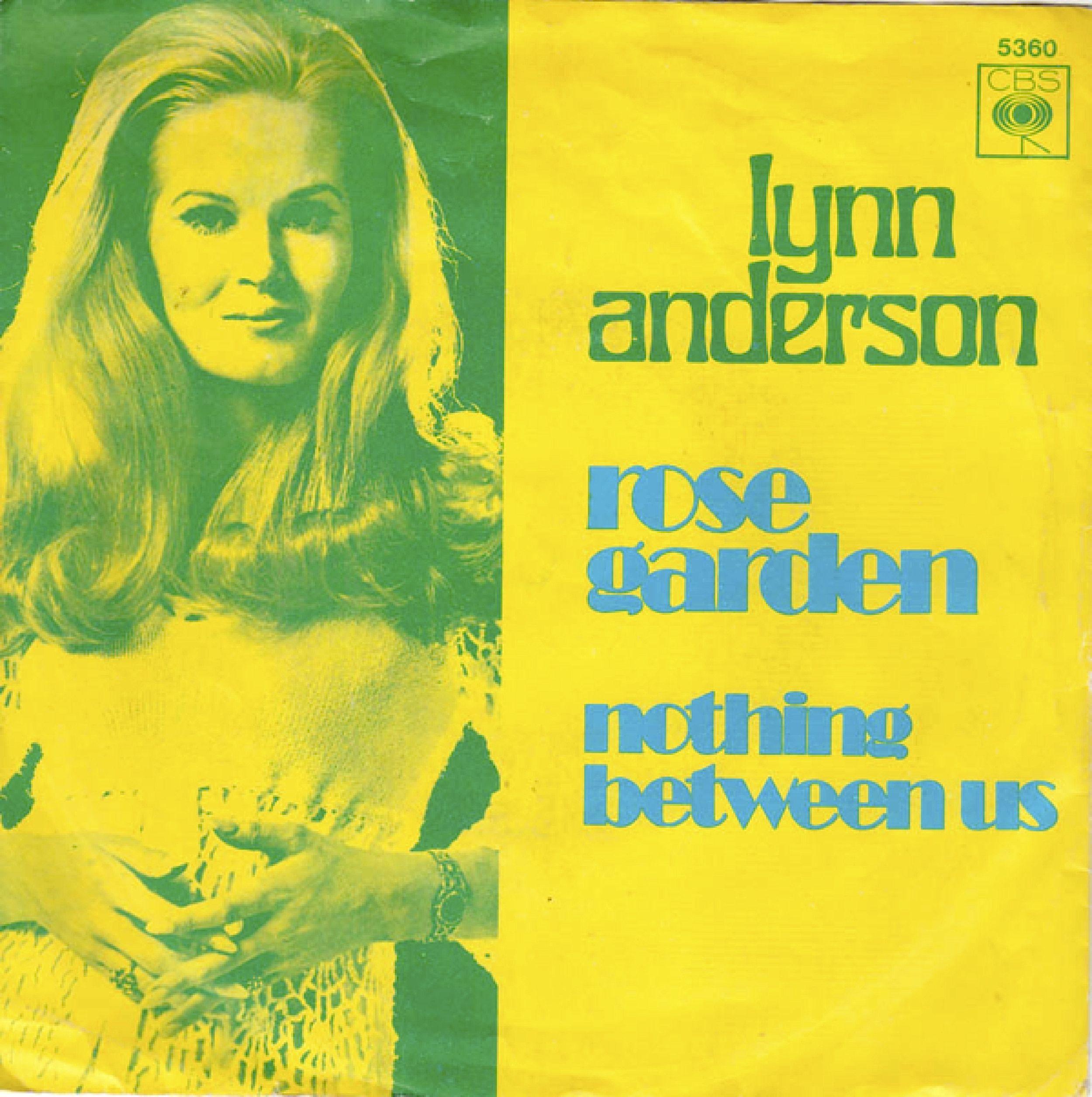 SINGLE VAN DE WEEK LYNN ANDERSON ROSE GARDEN