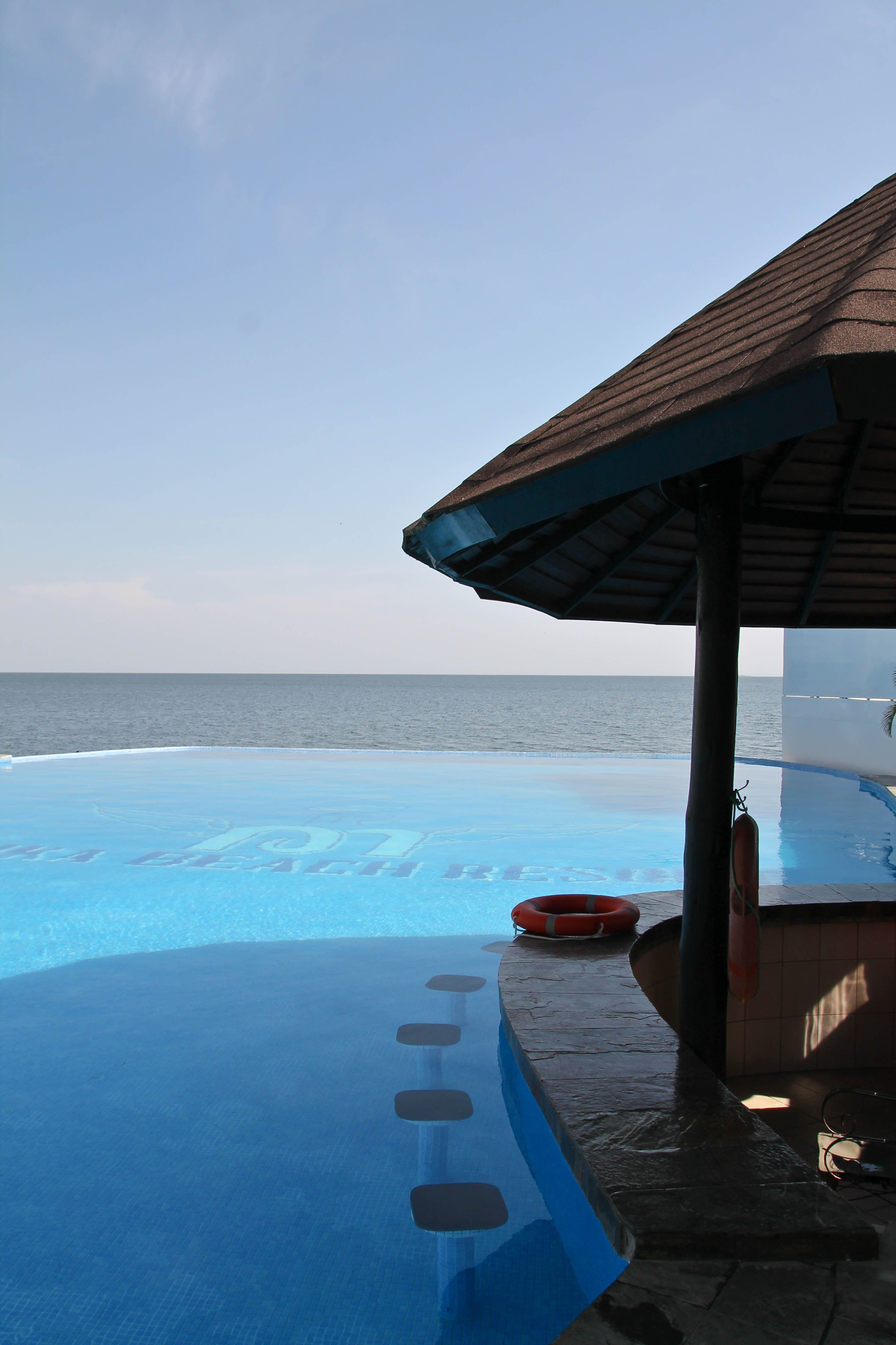 Malaika Beach Resort Infinity Pool In Mwanza Tanzania The Pink Backpack Beach Resorts Resort Tanzania