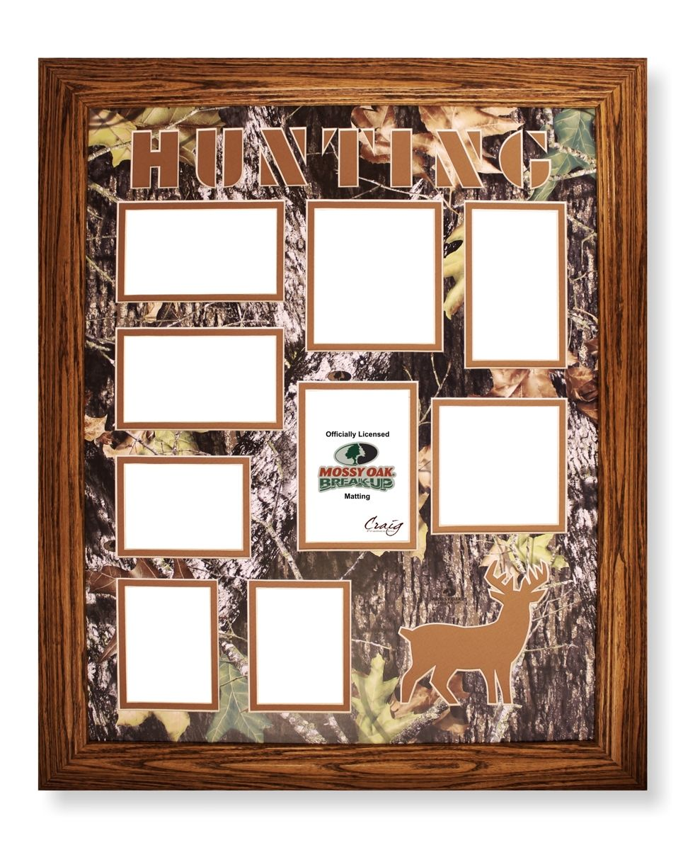Hunting Frame Oak Mossy Oak Picture Collage