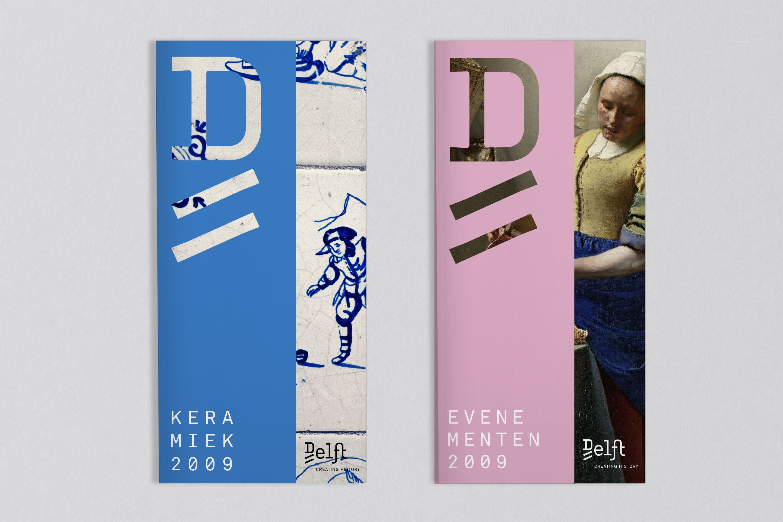 studio dumbar design visual brand identity delft city marketing