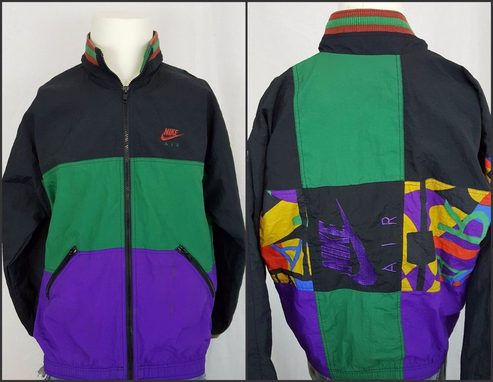 Vintage Original Nike Air Michael Jordan 90's Sewn Windbreaker ...