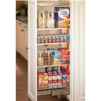 Kitchen Pantry Organizers Hafele Full Extension