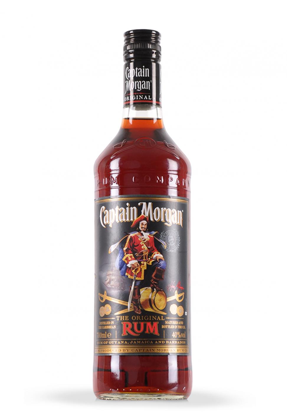 Rom Captain Morgan Original 0 7l Captain Morgan The Originals Rum