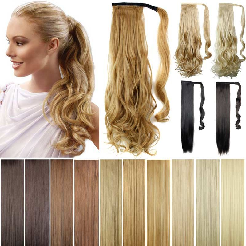 pony Tails ponytails hair pieces 22\' Synthetic