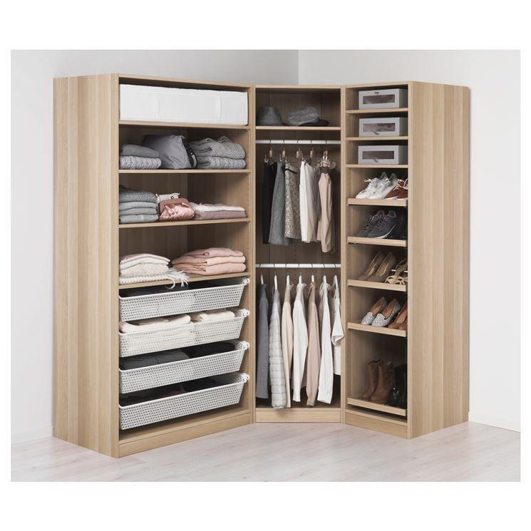 Ikea cabina armadio angolare Le cabine armadio