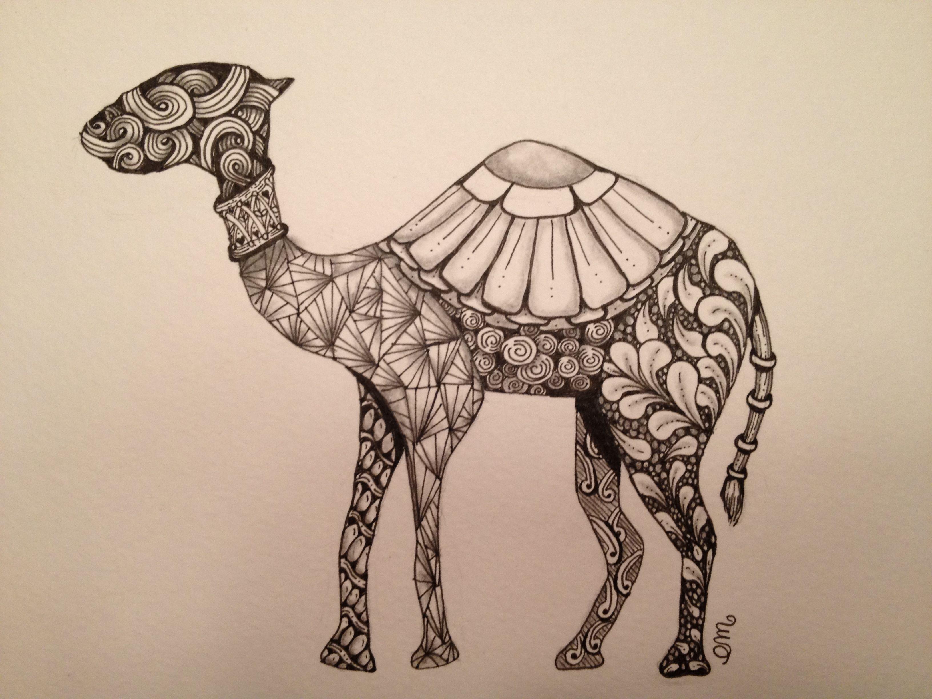 A Gift For A Special Friend Who S Heart Belongs To Egypt Zentangle Mandala Dieren