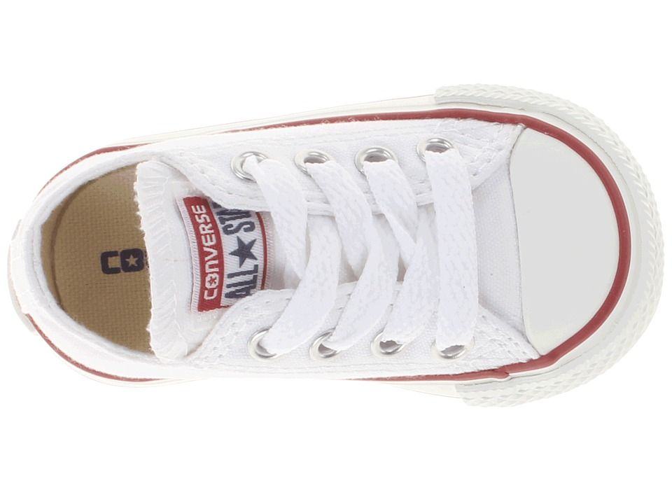 Converse Kids Chuck Taylor(r) All Star(r) Core Ox (Infant Toddler) Kids Shoes  Optical White 2440bf508