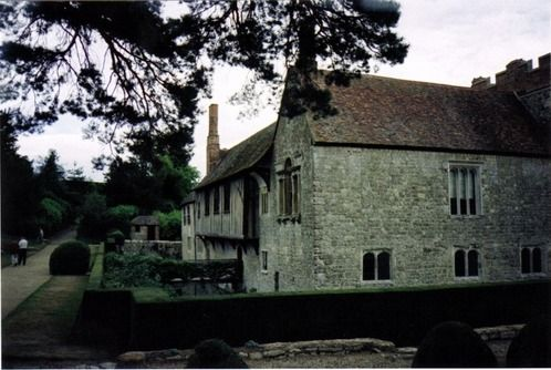 Ightham Mote Kent This 14th Century Moated Manner House