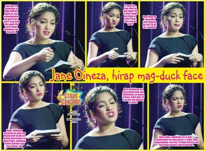 Jane Oineza, hirap mag-duck face http://www.pinoyparazzi.com/jane-oineza-hirap-mag-duck-face/