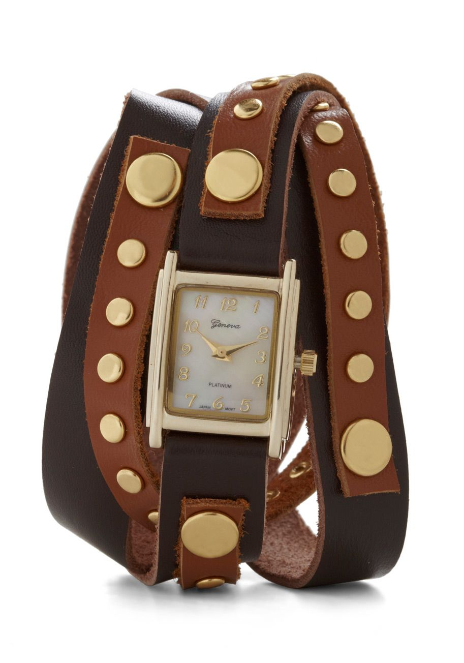 Wrap-sody in Brown Watch | Mod Retro Vintage Watches | ModCloth.com