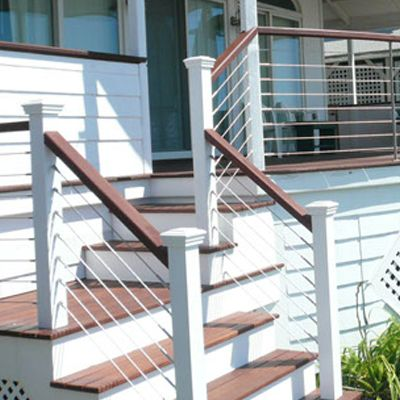 Stainless Steel Cable Railing Systems Handrail Components Cable Railing Patio Railing Stainless Steel Cable Railing