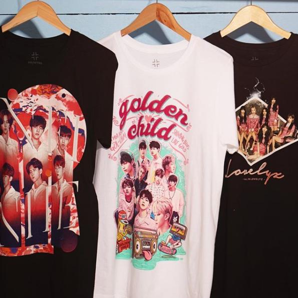 108ec62f LOOK! More K-Pop bands! // Infinite, Golden Child & Lovelyz T-Shirts ...