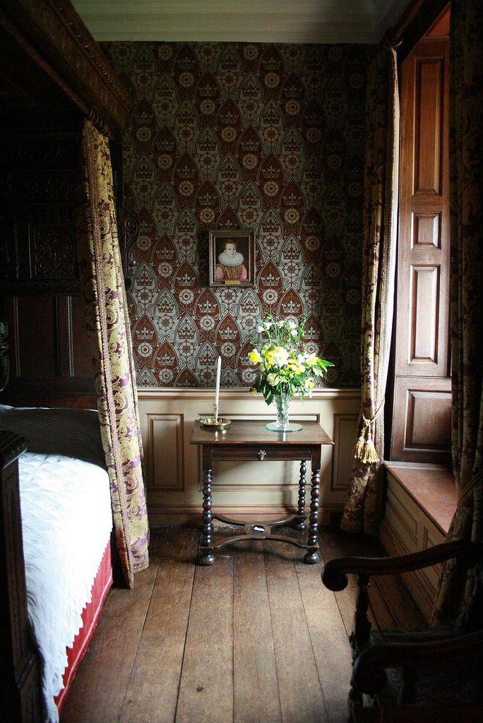 Dunster Bedroom by Chris Wilkins at Flickr