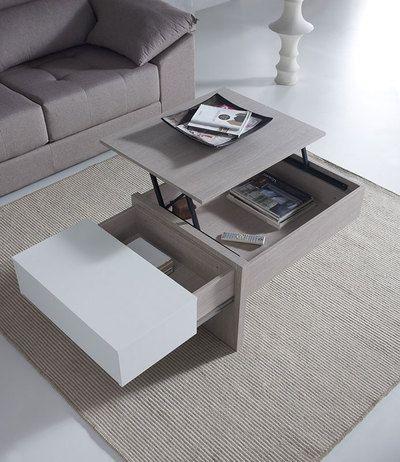 dcouvrez la table basse relevable moderne calvin transformez votre table selon vos besoins et vos - Table Salon Moderne Design