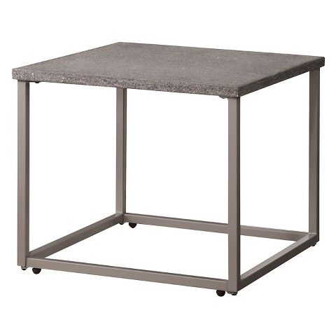 Heatherstone Metal Patio Side Table Threshold Patio Furniture Sets Patio Furniture Collection Patio Side Table