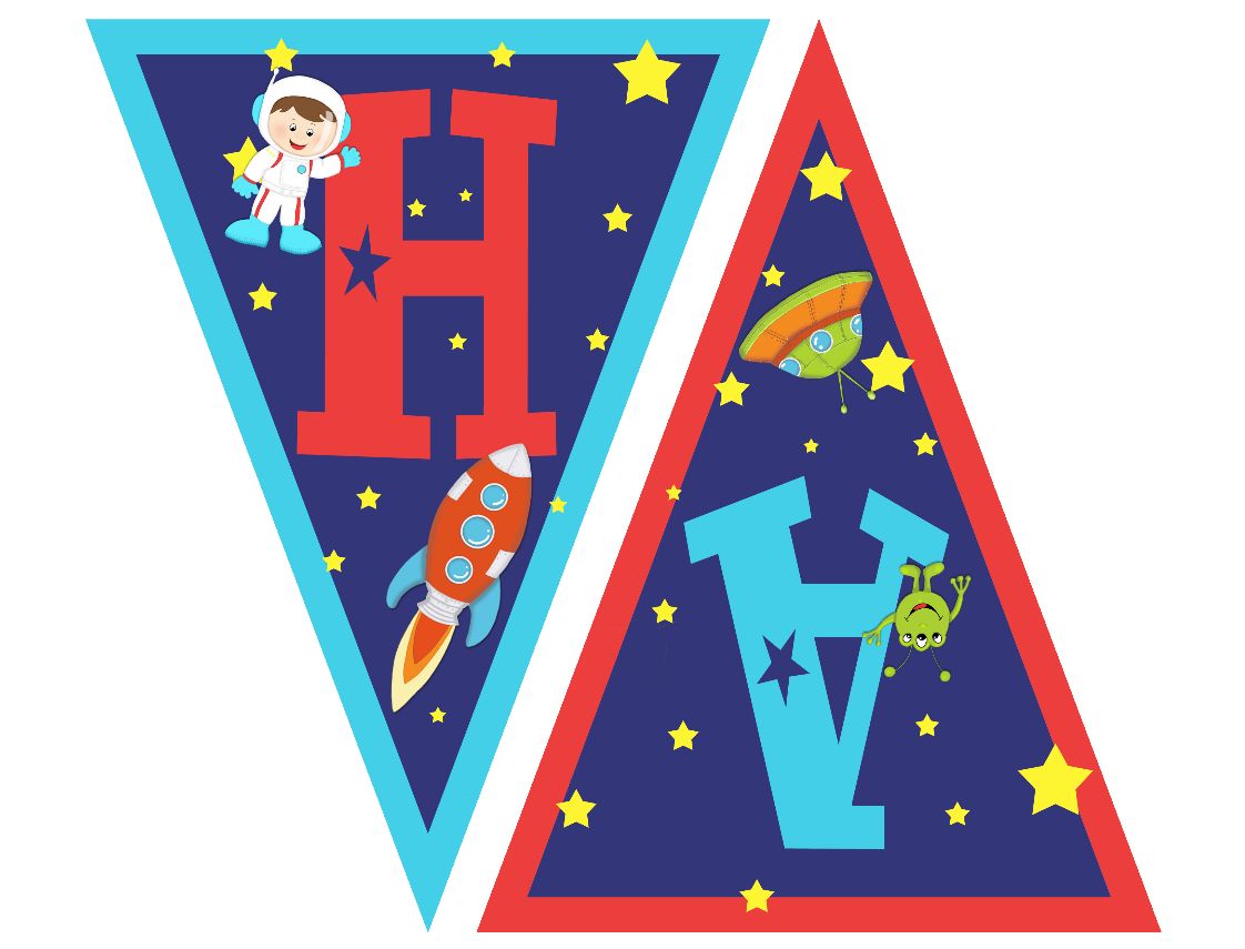 astronaut party printables - HD 1122×855
