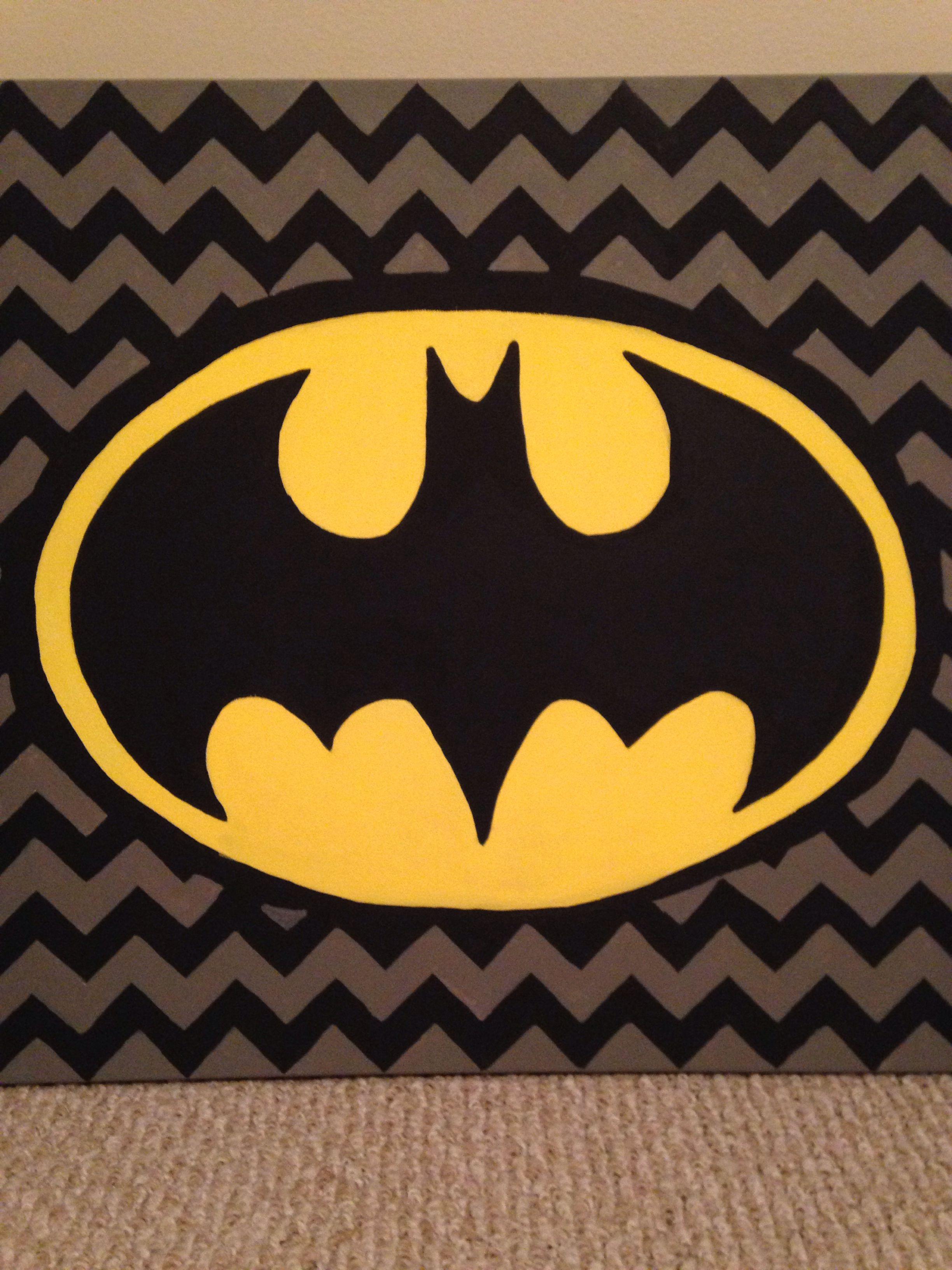 Superhero wall art - Batman Supplies - 20x20 canvas, acrylic paint ...