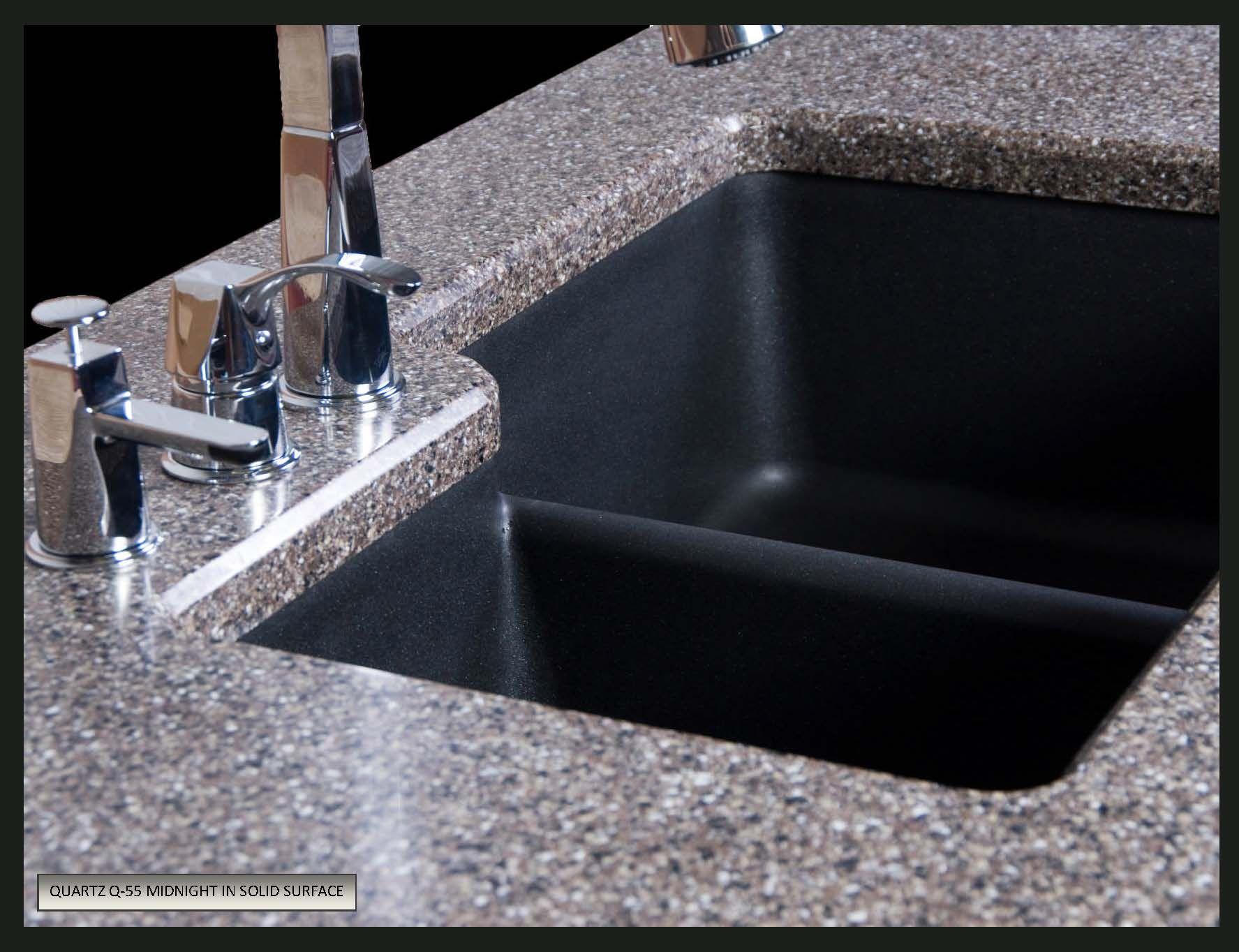 karran quartz undermount sink granite