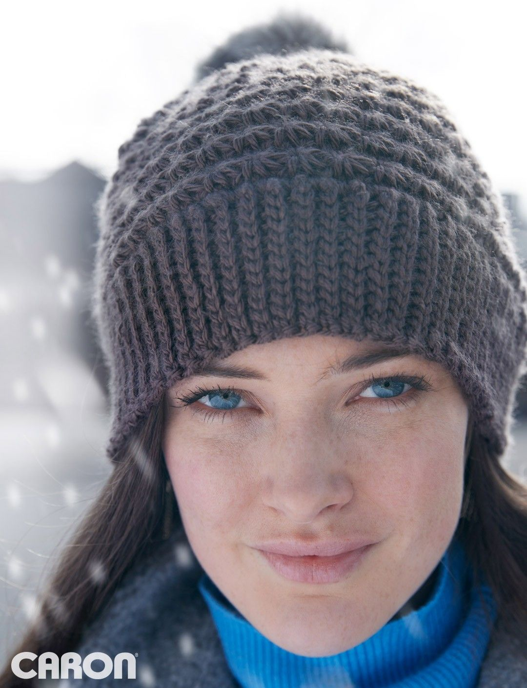 928b9f77429 5 Star Beanie Crochet Hat Pattern Featuring the Star Cluster Stitch