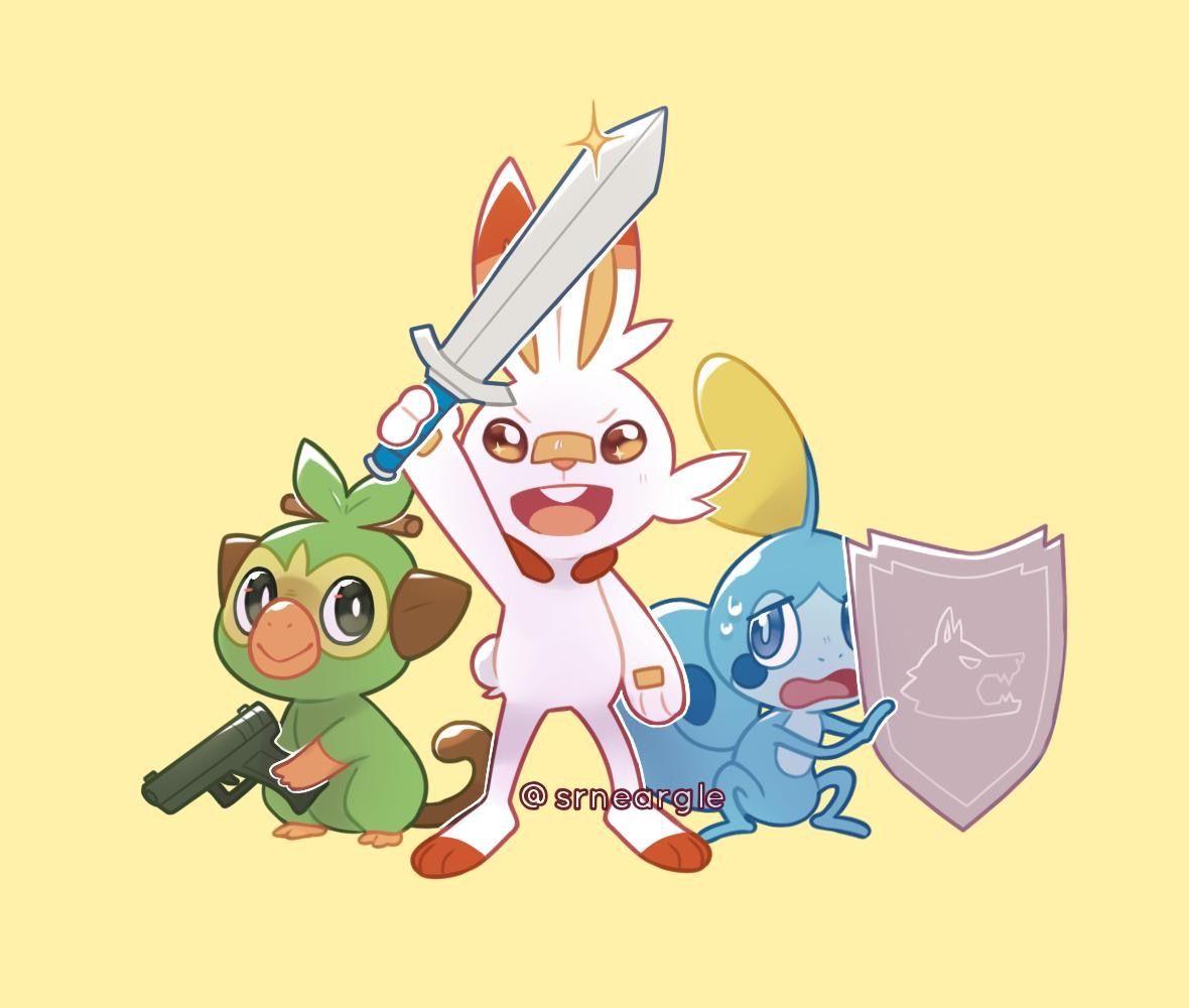 Sword Shield And Gun Pokemon Pokemon Pokemon Memes