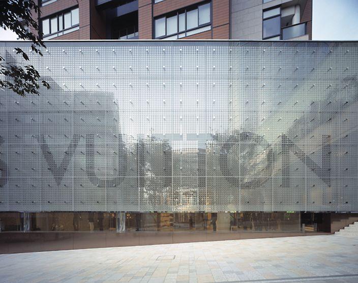 Louis Vuitton Roppongi Hills / Tokyo / Japan Architect: Aoki Jun http://www.architravel.com/architravel/building/louis-vuitton-roppongi-hills/
