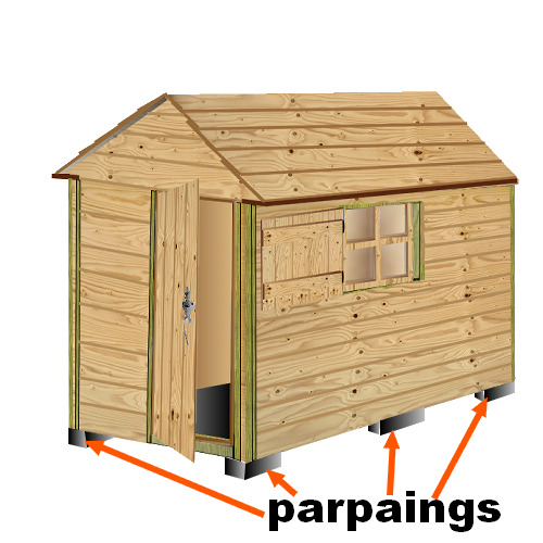 Plan cabane bois de jardin abri jardin bois cabanes outils cabane enfant pour les chatons for Idee plan abri de jardin