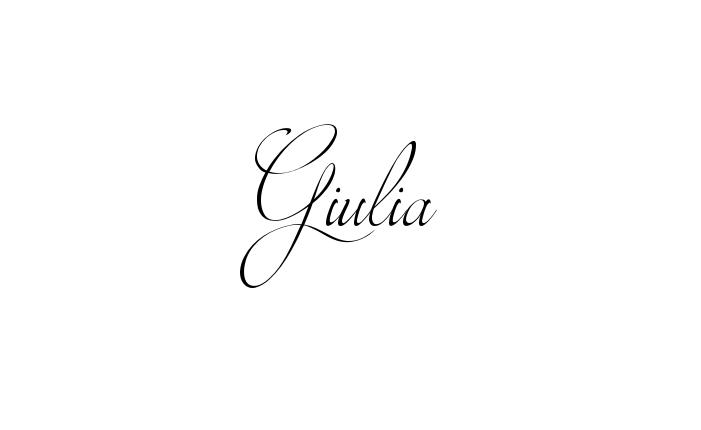 Sfondi con il nome giulia