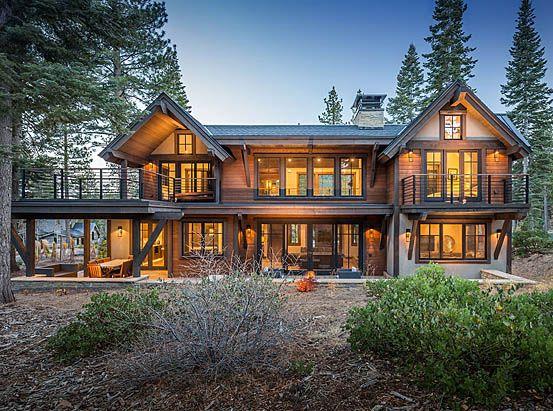 Delightful Cabin · Wood Homes · Hunt Family Retreat #331 | The Sandbox Studio