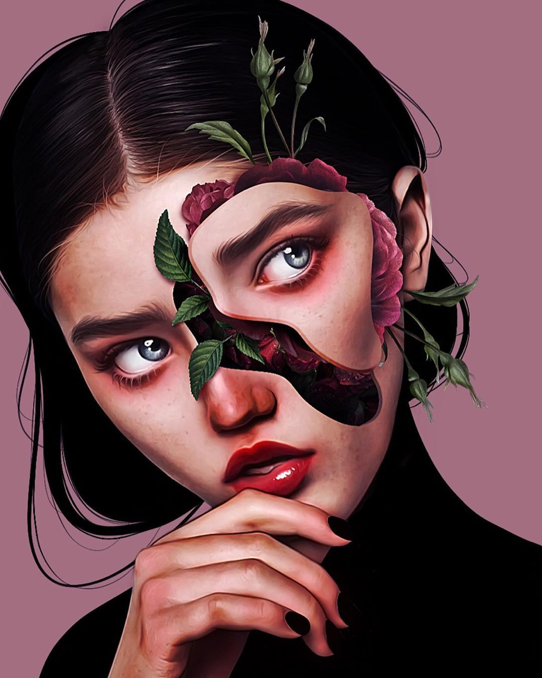 Laura H. Rubin is a 25-year-old digital artist and illustrator based in Bern, Switzerland. For more view website.    #digitalart #digitalartgirl #digitalpainting #illustrationart #illustration #digitalillustrations #surrealart #digitaldrawing