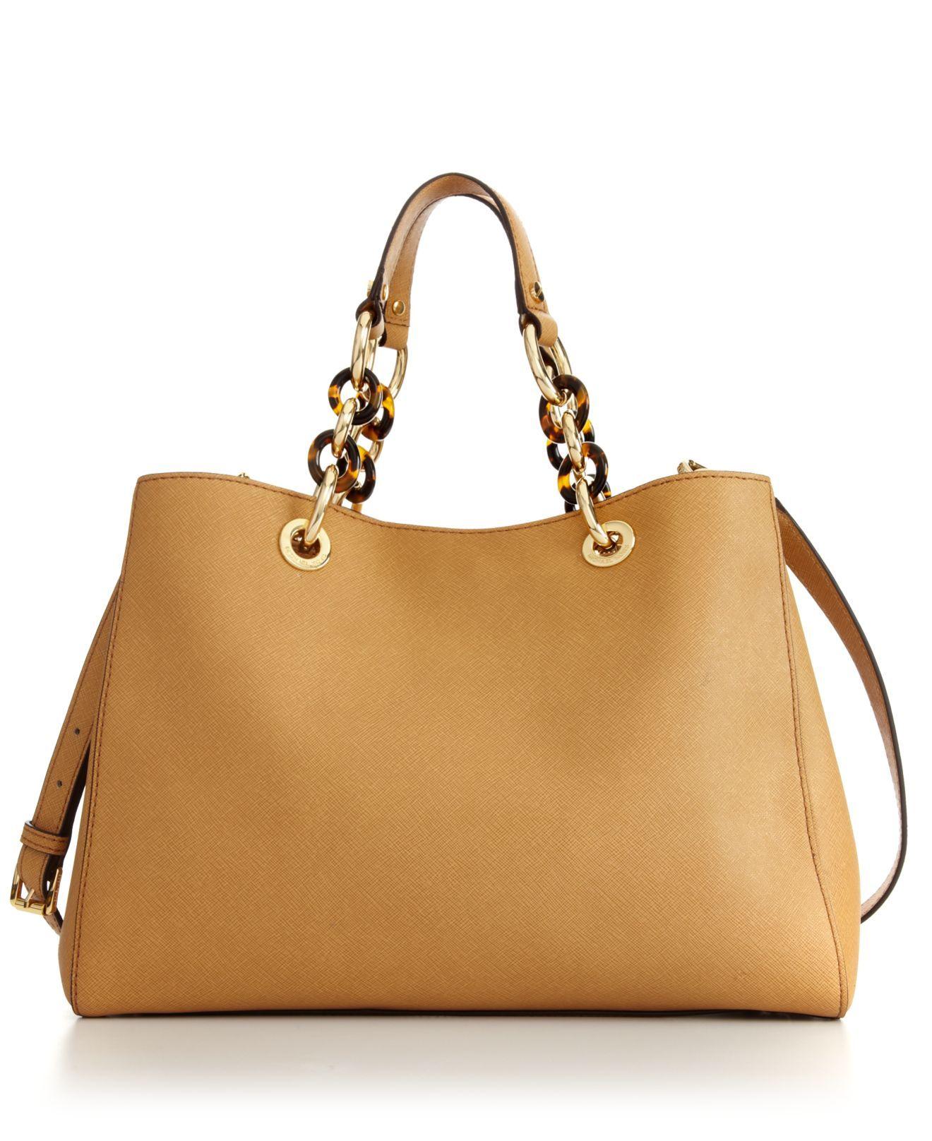 412928a2983a MICHAEL Michael Kors Handbag, Cynthia Medium Satchel - MICHAEL Michael Kors  - Handbags & Accessories - Macy's
