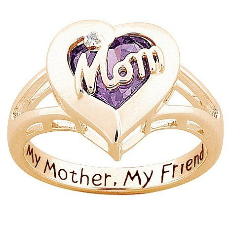 Mother S Day Bestmomever Mom Ring Mothers Day Rings