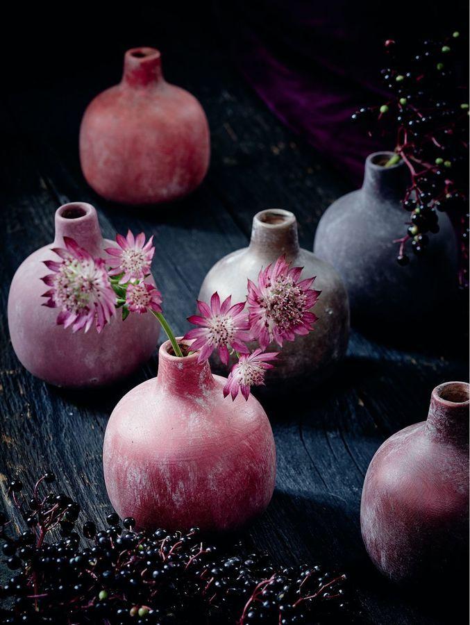Werbung* Vasen-Set, 6-tlg, Keramik #Keramik #Vasen #Vasenset