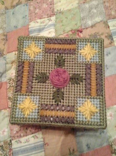 Coasters box  Made for Sister to hold all the Costers.