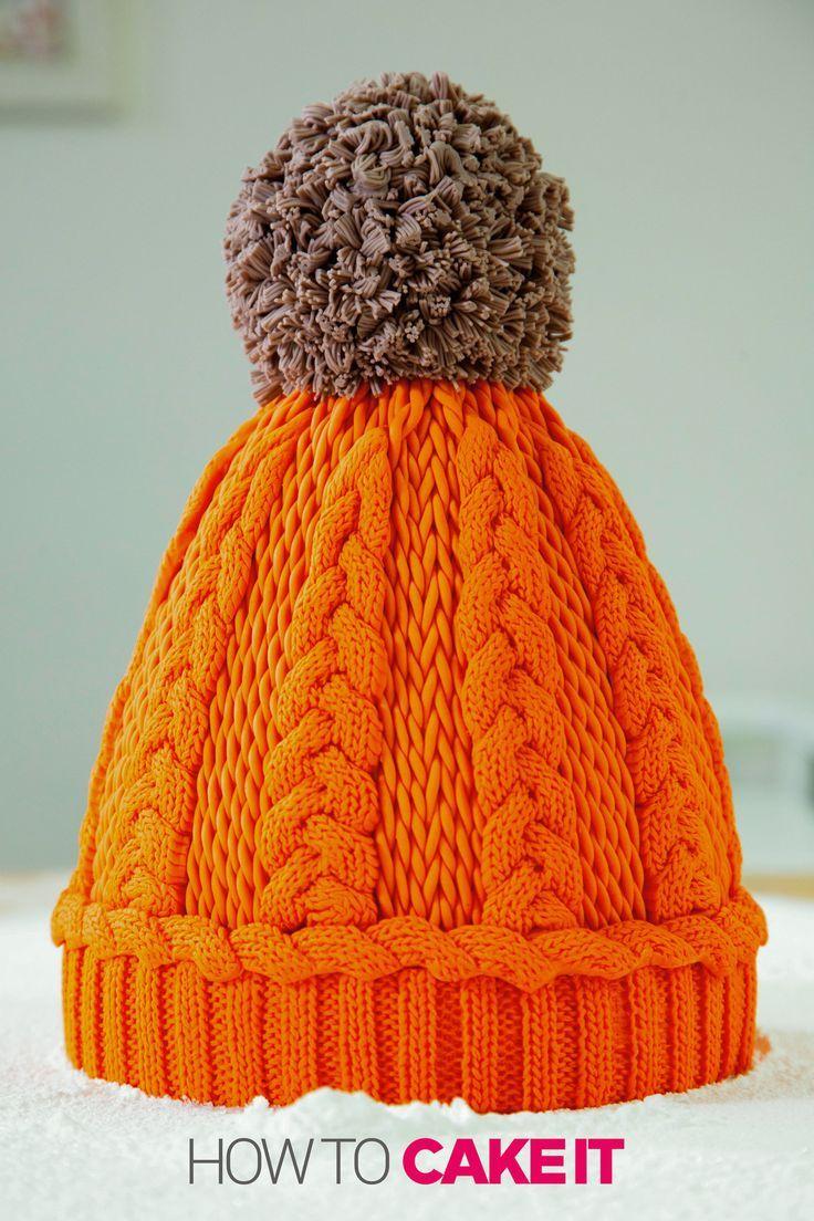 Winter Hat Cake #celebrationcakes