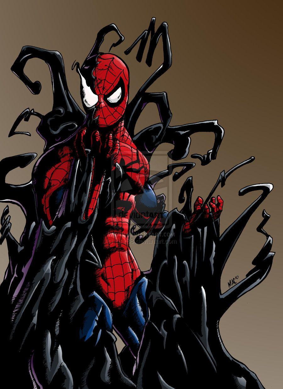 spiderman, venom by jorel88.deviantart.com on @deviantART ...