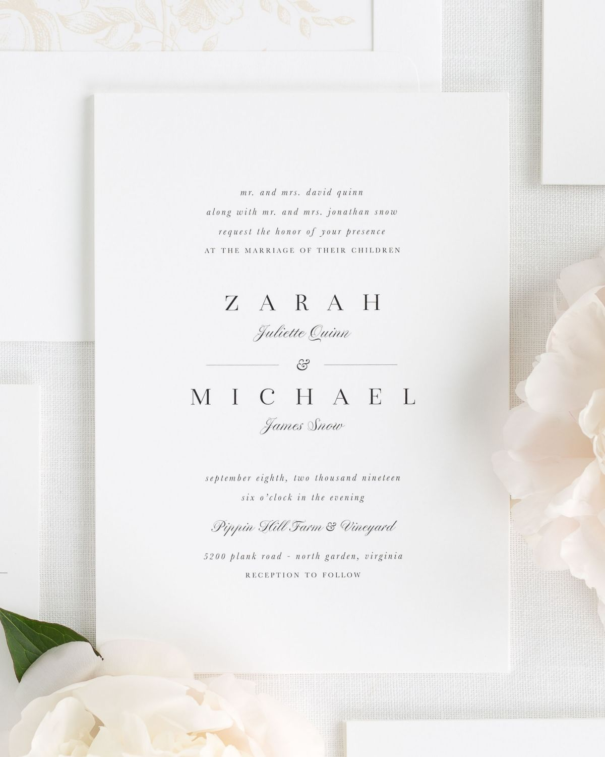 Zarah Wedding Invitations Invitacion Boda Originales