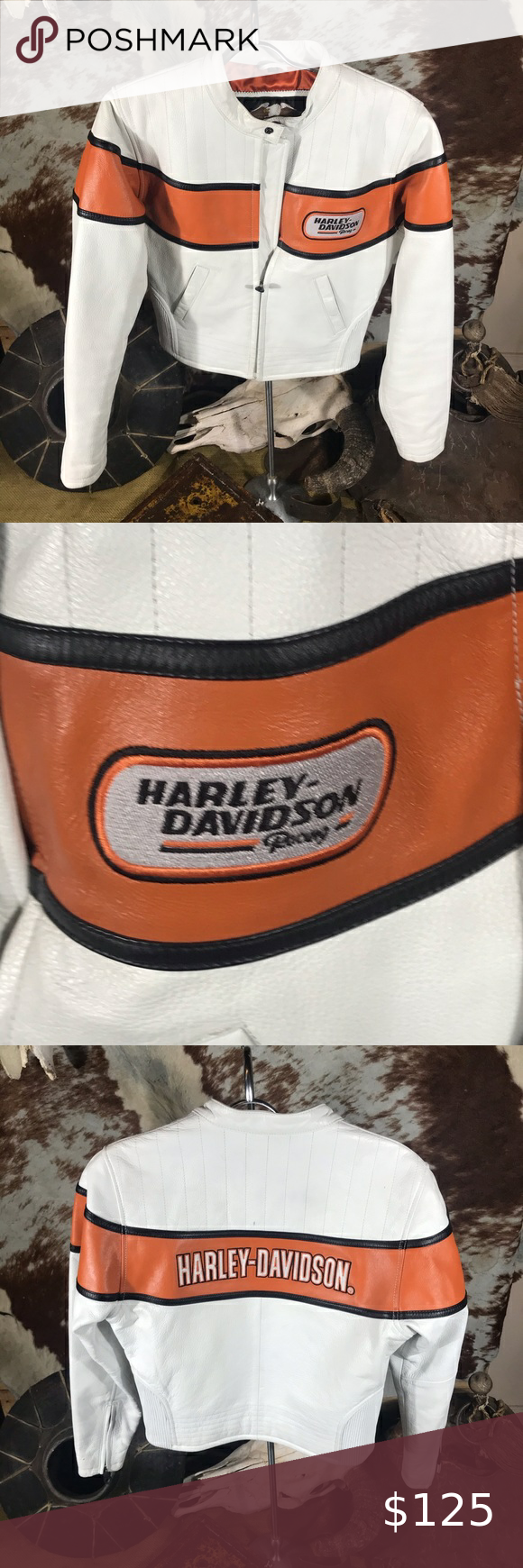 Harley Davidson Women's Leather Jacket Size XS. in 2020 ...