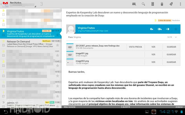 Especial Ice Cream Sandwich: las Google Apps se renuevan  http://www.xatakandroid.com/p/83336