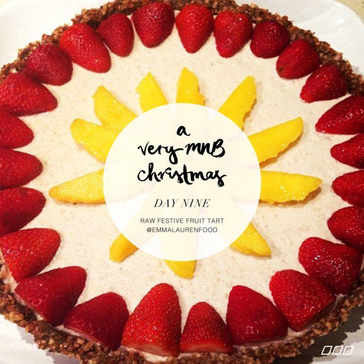 Raw Festive Fruit Tart | Move Nourish Believe