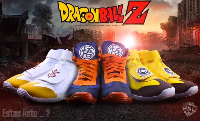 Officially Licensed Dragon Ball Z Shoes