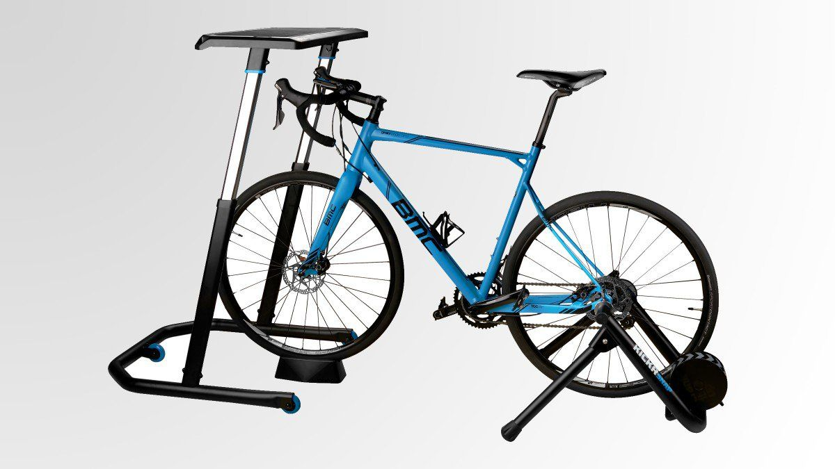 The Perfect Desk For Bike Junkies Biking Workout Zwift Cycling