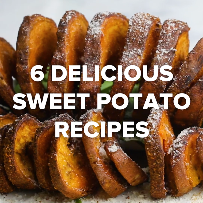 6 Delicious Sweet Potato Recipes // #recipes #sweetpotatos #food #goodful #fries #sweetpotatorecipes