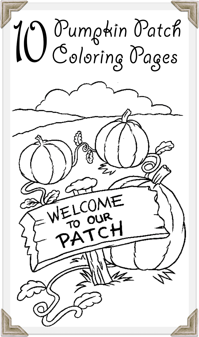 Pumpkin Patch Color Pages : pumpkin, patch, color, pages, Printable, Pumpkin, Patch, Coloring, Pages, Online, Pages,, Birthday, Party,