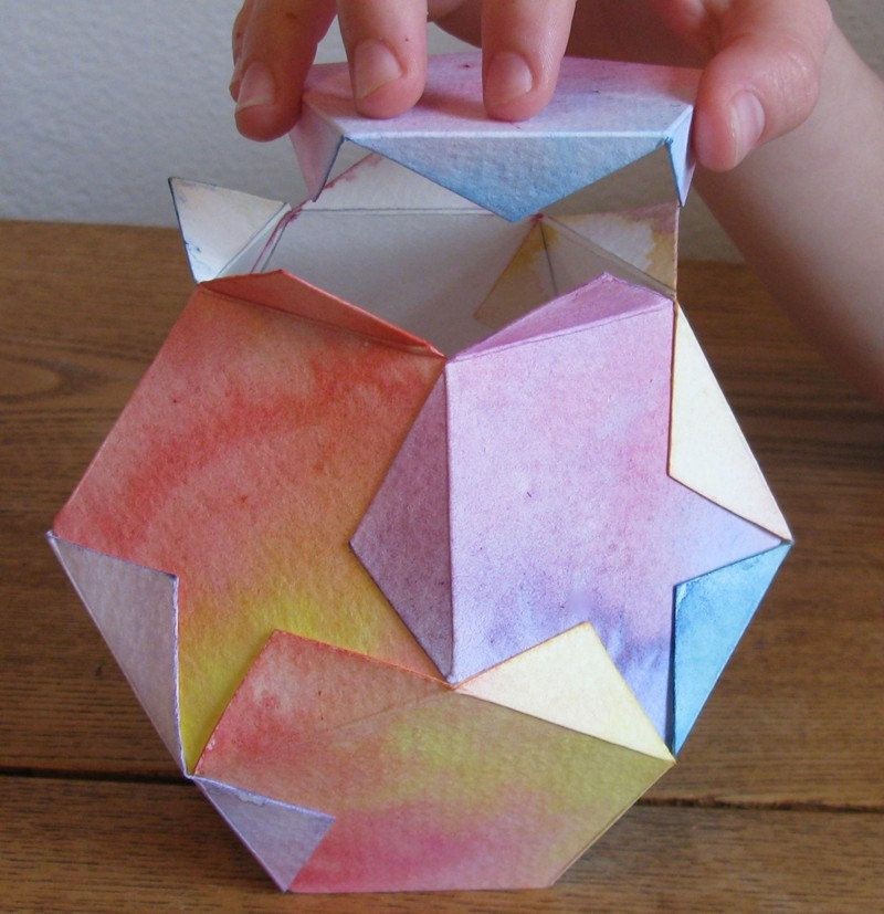 Star lantern kit materials and directions to make two - Material waldorf ...
